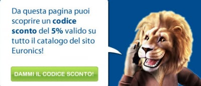 Sconto 5% Euronics
