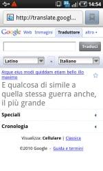 Da latino a italiano