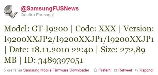 Samsung Galaxy S2 firmware