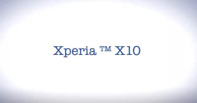 Aggiornamento Xperia X10