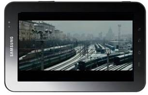 Samsung Galaxy Tab Movies