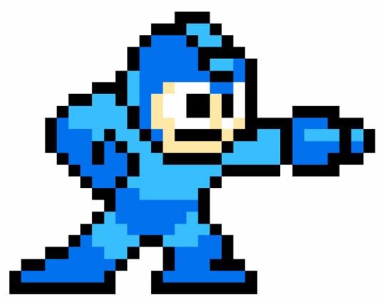 megaman-pixel