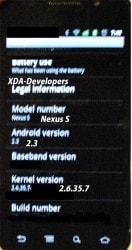 Gingerbread su Nexus S