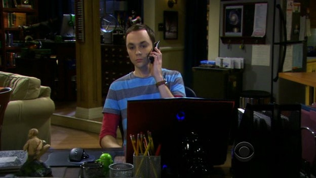 Andy in The Big Bang Theory