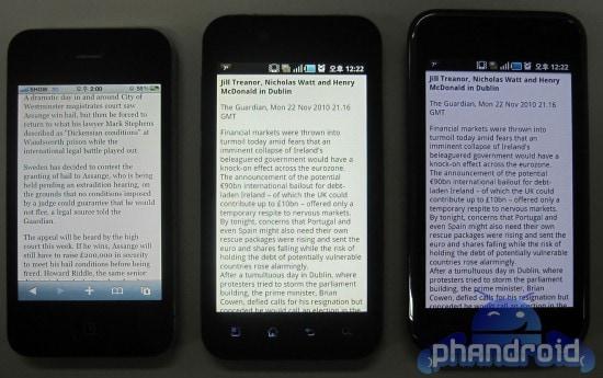 LG B vs iPhone vs Galaxy S