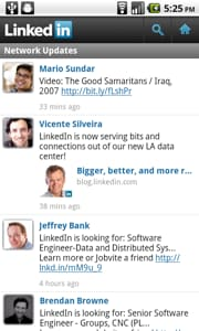 LinkedIn for Android Beta 2