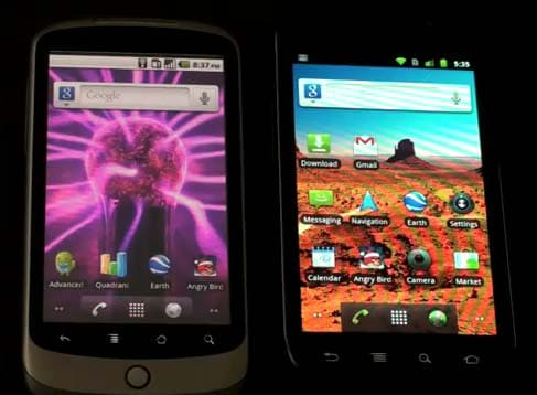 Nexus One Vs S