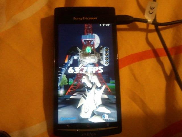 Sony ericsson Xperia x12 test 3D