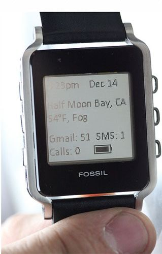 fossil android watch