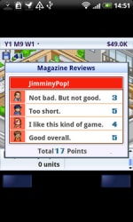 game dev story - reviews