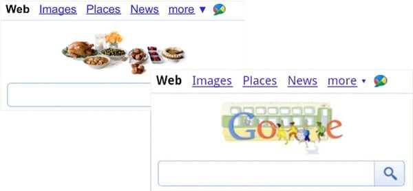 google doodles mobile