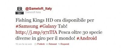 Fishing Kings HD disponibile per Galaxy Tab
