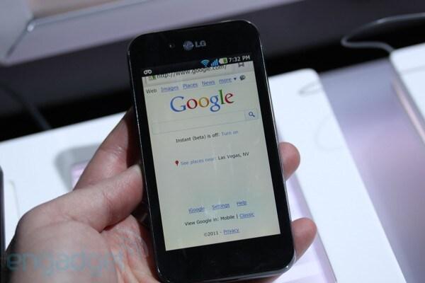 LG Optimus Black: le immagini