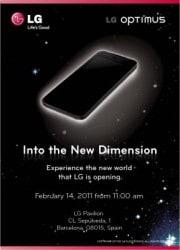 """LG promette una """"nuova dimensione"""" all' MWC di Febbraio"""