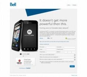 Motorola Atrix in arrivo? Il sito è online