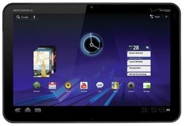 Motorola Xoom le previsioni per il primo trimestre del 2011