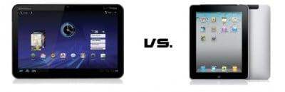 Motorola Xoom contro iPad