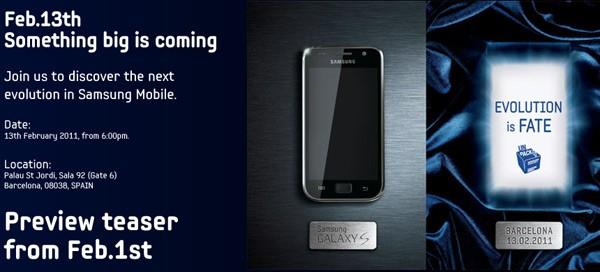 Samsung Galaxy S MWC
