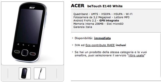 beTouch E140 Mediaworld