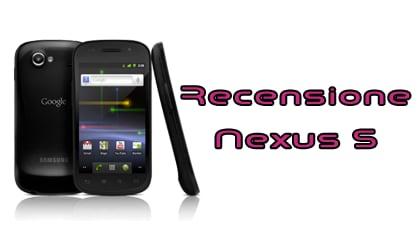 Nexus S recensione