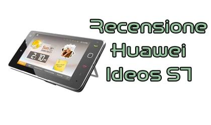 Huawei S7, la recensione