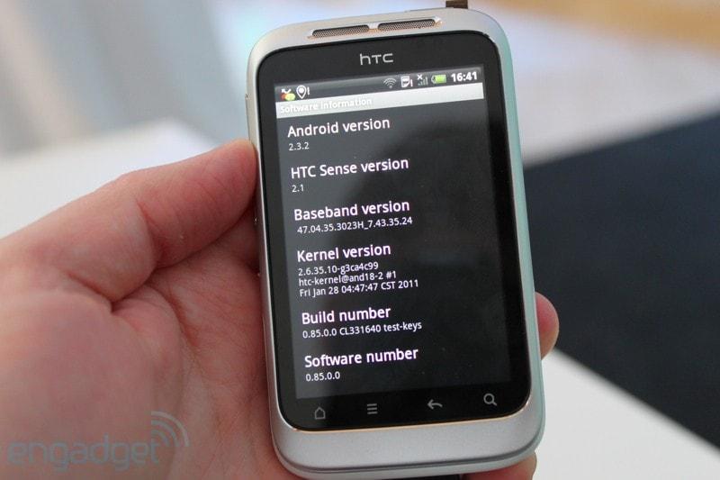 HTC Wildfire S - 14