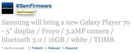 Nuovo Galaxy Player