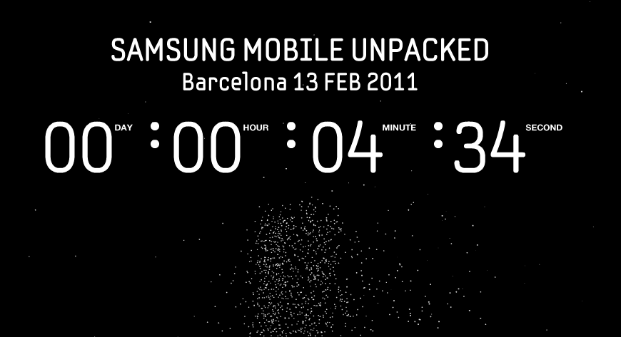 Live l'evento Samsung all'MWC 2011 – Galaxy S 2 e Galaxy Tab 2