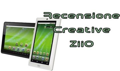 Creative ZiiO recensione