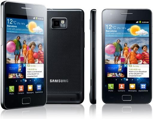 Samsung Galaxy S2 immagini