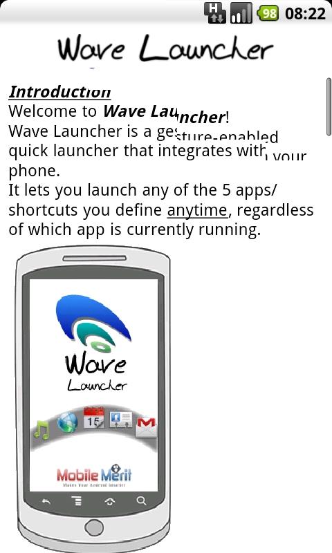 Wave Launcher help