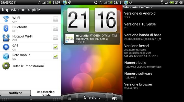 HTC Sense 2.1