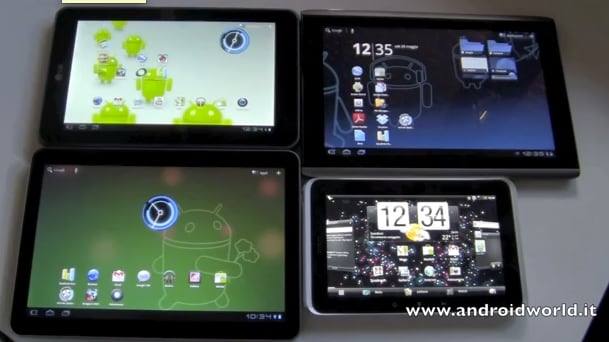 Confronto tablet