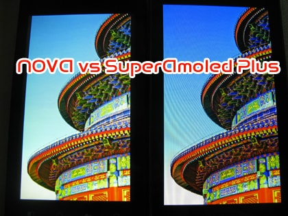 NOVA vs SuperAmoled Plus