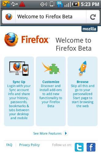 Firefox5 Beta