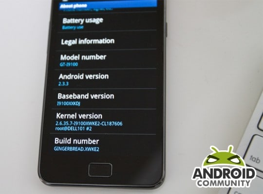 samsung galaxy s ii update