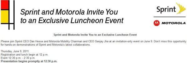 Sprint e Motorola