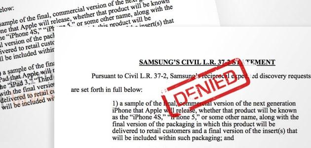 Samsung-denied
