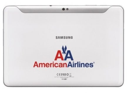 SamsungGalaxyTabperAmericanAirlines