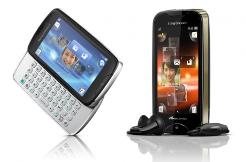 Sony Ericsson txt pro e Mix Walkman