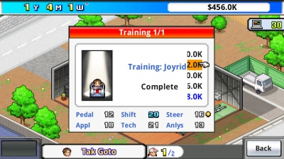 Grand Prix Story training