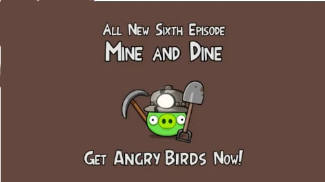 mine and dine angry birds