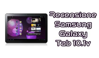 Recensione Samsung Galaxy Tab 10.1v