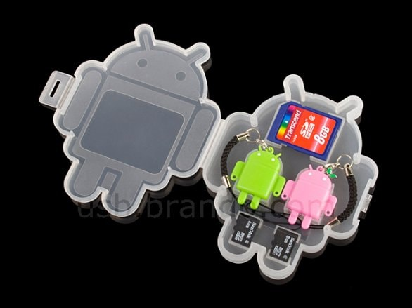usb robot android microsd