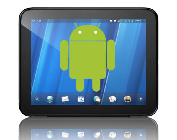 Ora potete arrabbiarvi: Nougat non è sul vostro smartphone (forse) ma è su HP TouchPad!