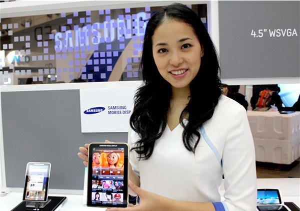 Samsung Galaxy Tab super amoled