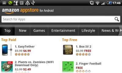 113 400x240 Amazon App Store disponibile anche in Italia