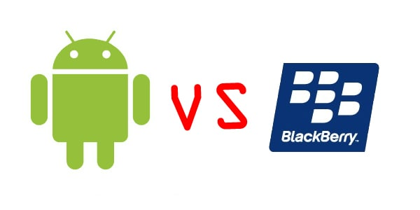 Android  Vs Blackberry OS