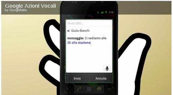 Azioni Vocali