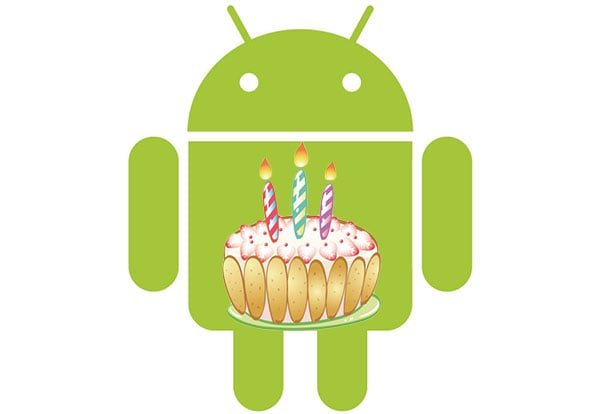 Android 3 years